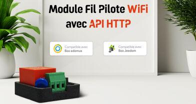 Module Fil Pilote WiFi avec API Rest de Wifipower