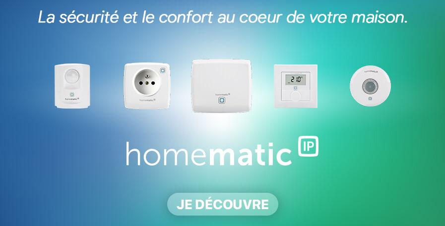 Homematic Ip : Alarme, Chauffage, Sécurité