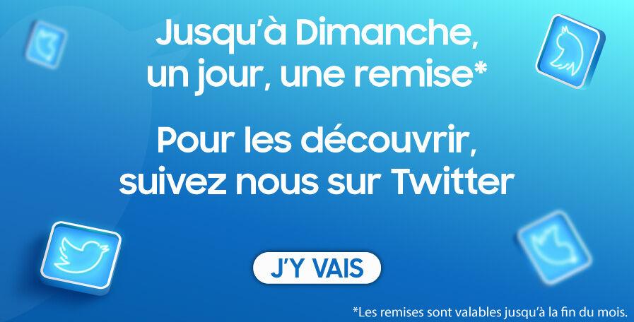 Découvrez des promos sur Twitter !