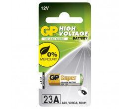 Pile alcaline 12 V LR23 A23 - GP Super