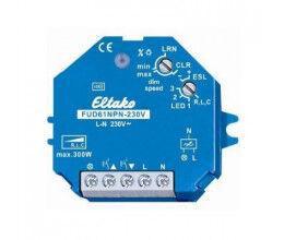 Actionneur radio enOcean, variateur R, L, C, ESL et LED - Eltako