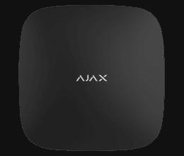 Centrale d'alarme professionnelle RJ45 + GPRS version 2 noire - Ajax Systems