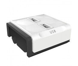 Module additionnel 2x USB pour multiprise modulaire PowerStrip - Allocacoc