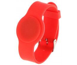Bracelet RFID couleur rouge compatible EM 125Khz - Atlo
