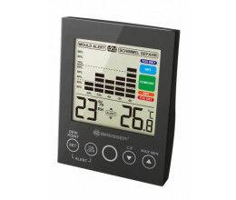 Hygromètre numérique avec grand LCD couleur noir - Bresser