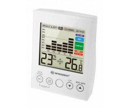 Hygromètre numérique avec grand LCD couleur blanc - Bresser