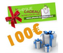 Chèque cadeau de 100 euros