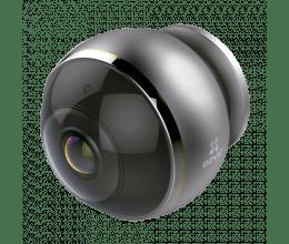 Caméra WiFi 3 Mpx avec vision Fisheye et 4 vues virtuelles - Ezviz