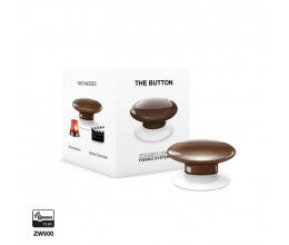 Bouton de commande Z-Wave Plus marron - Fibaro