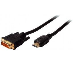 Convertisseur câble HDMI vers DVI-D 24+1 longueur 1 m