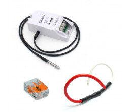 Kit de gestion de chauffage fil pilote WiFi avec sonde de température