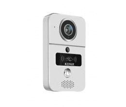 Portier vidéo 720p Wi-Fi, détecteur de mouvement, lecteur RFID - Konx