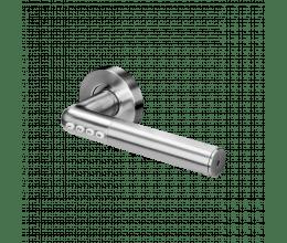 Poignée de porte avec protection par code et bluetooth - Orno