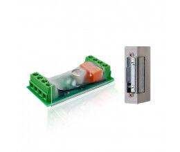 Module contrôle d'ouverture de porte Z-Wave+ avec gâche incluse - Popp