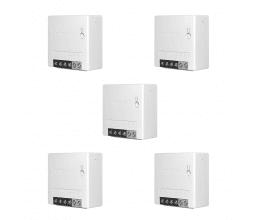 Lot de 5 Mini Modules ON/OFF WiFi avec deux entrées interrupteur - Sonoff