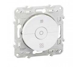 Interrupteur 3 positions pour VMC couleur blanc gamme ODACE - Schneider
