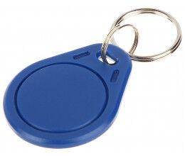 Bagde porte clés de proximité RFID Mifare 13.56Mhz