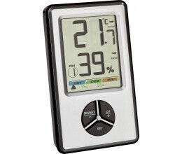 Capteur de température et humidité radio 433 Mhz pour intérieur avec écran compatible RFXcom - TFA