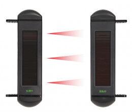 Barrière infrarouge RF avec alimentation solaire 3 canaux gamme SolarAlarm - Wizelec
