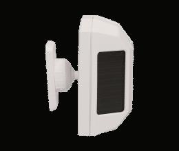Detecteur de mouvement RF type rideau avec alimentation solaire gamme SolarAlarm - Wizelec