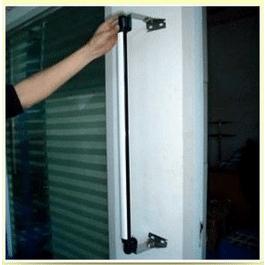 Support pour barrière infrarouge (2 équerres réglables) - Alean Security