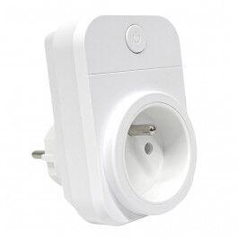 Prise wifi 16A compatible Google Home et Amazon Alexa - Wizelec