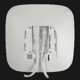 Centrale d'alarme professionnelle Ethernet, Wi-Fi et 4G Double SIM blanc - Ajax Systems
