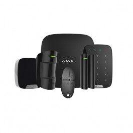Kit d'alarme professionnelle Ethernet et GPRS avec clavier version noire - Ajax Systems
