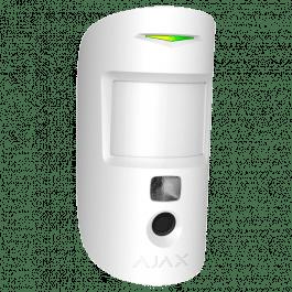 Détecteur de mouvement PIR avec caméra intégrée couleur blanc - Ajax Systems