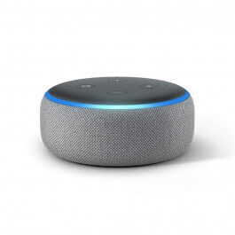 Assistant vocal Amazon Echo DOT Génération 3 Gris - Amazon
