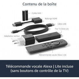 Passerelle Multimédia Amazon Fire Stick TV Lite - Amazon