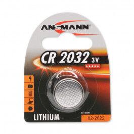 Pile bouton lithium CR2032 3 V - Ansmann