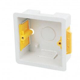 Boite d'encastrement carrée 35cm blanche - Appleby