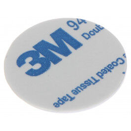 Tag autocollant RFID compatible Mifare 13.56Mhz diamètre 25mm - Atlo