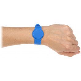 Bracelet RFID couleur bleu compatible EM125Khz - Atlo