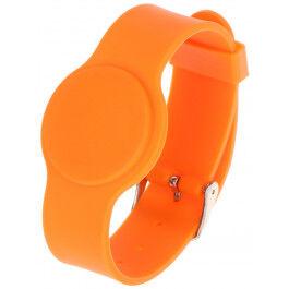 Bracelet RFID couleur orange compatible EM125Khz - Atlo