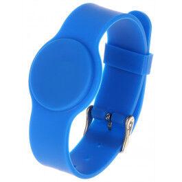 Bracelet RFID couleur bleu compatible Mifare 13.56Mhz - Atlo