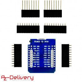 Microcontrôleur WiFi ESP32 D1 Mini - AZDelivery