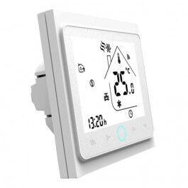 Thermostat connecté BHT-002 compatible Alexa et Google Home couleur blanc - BECA