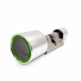 Cylindre de serrure connecté Bluetooth haute sécurité 55mm - Bold