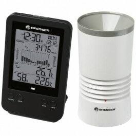 Pluviomètre professionnel avec portée 150 mètres et station base LCD - Bresser