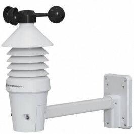 Anémomètre professionnel avec portée 150 mètres et station base LCD - Bresser