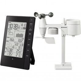 Station météo professionnelle WiFi avec capteur 5 en 1 et interface Ordinateur - Bresser