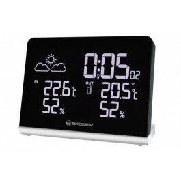 Station météo avec affichage TrueBlack et couleurs réglables selon température - Bresser