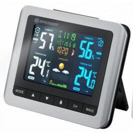 Station météo MeteoTemp avec écran couleur et fonction réveil  - Bresser