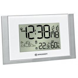 Station météo murale avec température, humidité et prévisions météos - Bresser