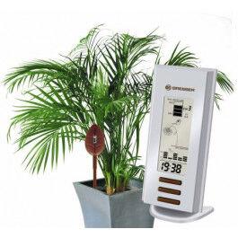 Indicateur d'arrosage pour jardin avec 3 sondes et station base - Bresser