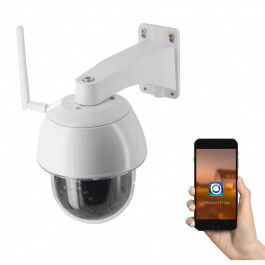 Caméra extérieure motorisée 1080p WiFi - Chacon