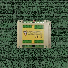Module 8 relais pour installation domotique DOMBUS31 - Créasol