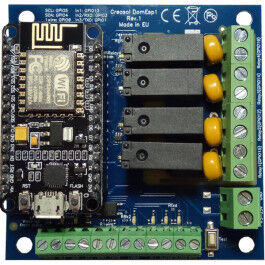 Module domotique DomESP compatible ESP8266 - Creasol